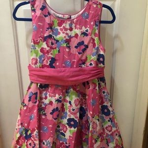 3/$25 Girls Floral Dress